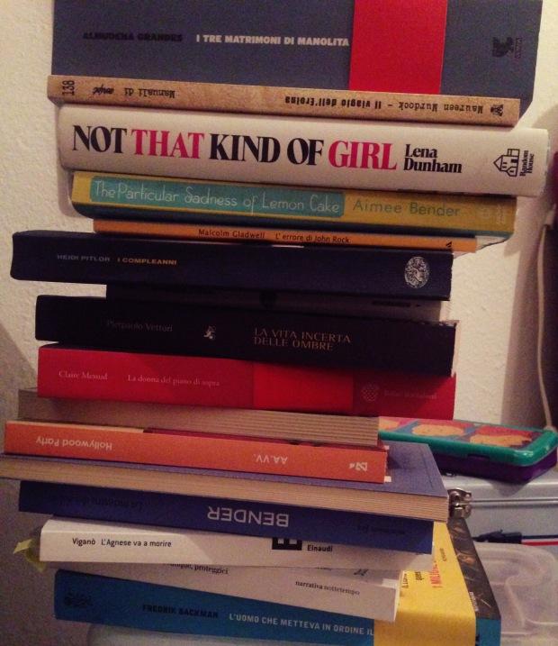 Ma 'ndo vai se la pila di libri sul comodino non ce l'hai?
